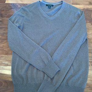 Grey Banana Republic V neck sweater M
